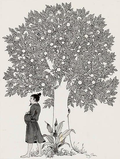 TONY CHEN. The Mandarin and the Pomegranate Tree.