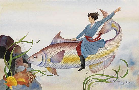 TONY CHEN. The Fisherman's Son.