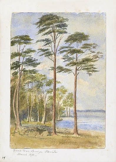 LEFEVRE J. CRANSTONE Group of 7 watercolors.