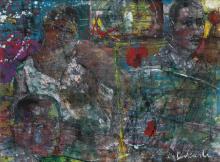 LOUIS DELSARTE (1944 - ) Element of Time.