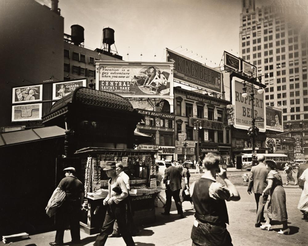 BERENICE ABBOTT (1898-1991) Union Square.