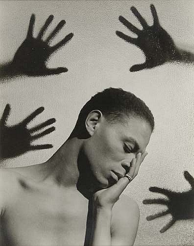LYNES, GEORGE PLATT (1907-1955) Surreal study with hands and James Leslie (