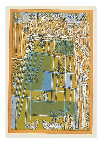 (AQUARIUS PRESS.) Colescott, Warrington. Death in Venice: Ten Etchings.