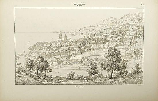 (ARCHITECTURE.) Gauthier, Martin-Pierre. Les plus beaux Édifices de la Ville de Gênes et de ses Environs.