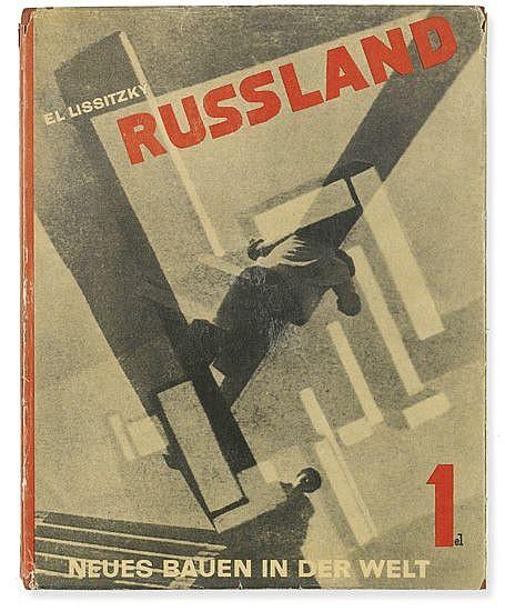 (ARCHITECTURE.) Lissitzky El. Russland: Die Rekonstruktion der Architektur in der Sowjetunion.