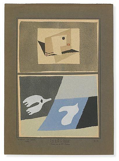 (ART DECO.) Matet, M. M. Tapis Modernes.
