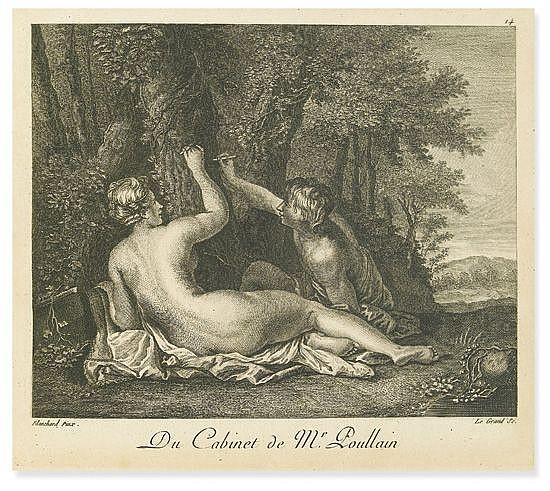 BASAN, PIERRE FRANÇOIS. Collection de cent-vingt Estampes gravées d'après les tableaux & dessins qui composoient le cabinet de M. Poul