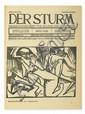 (GERMAN EXPRESSIONISM.) Walden, Herwarth; editor. Der Sturm.