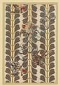 (JAPANESE ART.) Verneuil, M. P. Étoffes Japonaises. Tissées & Brochées.