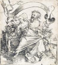 Albrecht dürer (german 1471-1528) knight death and the devil original