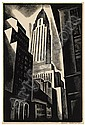 HOWARD COOK Chrysler Building., Howard Norton Cook, Click for value