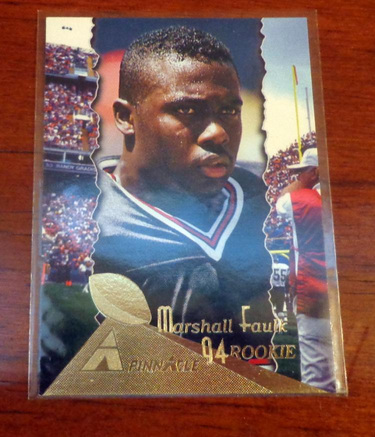 Marshall Faulk Football Rookie Card