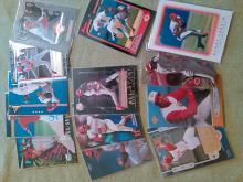 Barry Larkin Cincinnati Reds Baseball card Lot