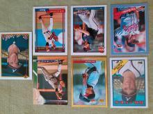 Tom Glavine Atlanta Braves Baseball Card Lot