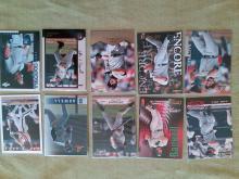 Jeff Bagwell Houston Astros Baseball card Lot