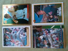 John Smoltz Atlanta Braves Baseball Card Lot