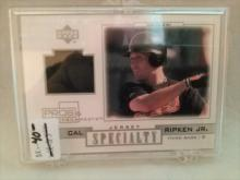 Cal Ripken Jr Specialty Jersey Baseball Card Pros and Prospects