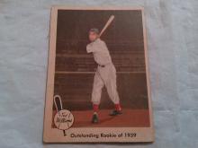 1959 Ted Willams Baseball Card