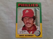 1975 Topps Baseball Card Mike Schmidt #70