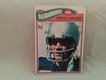 1977 Topps Steve Largent Football Card