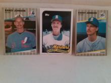 Randy Johnson 1989 Rookie Baseball Cards