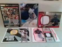 Baseball Game Used Jersey Card Lot