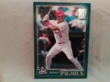 Albert Pujols Topps Rookie Card
