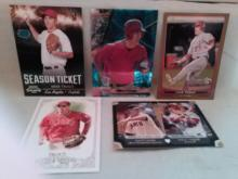 Mike Trout Rookie Card Lot