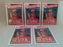 Mark McGwire Rookie Card Reprint baseball cards