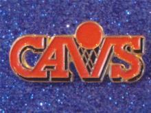 Cleveland Basketball CAVS Pin