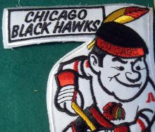 Chicago Blackhawks Embroidered Hockey Patch