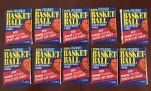 1991 Fleer Un-Opened Basketball Wax Packs