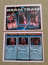 Popular Michael Jordan NBA Beam Team Basketball  Card
