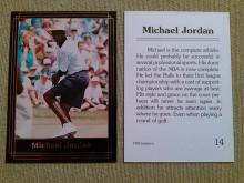 Popular Michael Jordan NBA Basketball  Card 1992 Investors Journal