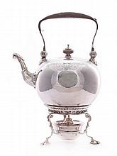 A seven-piece silver tea and coffee service, by