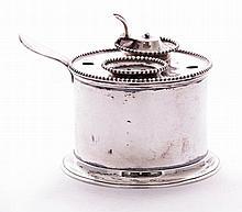 A Dutch silver inkstand, by Willem Arnoldus