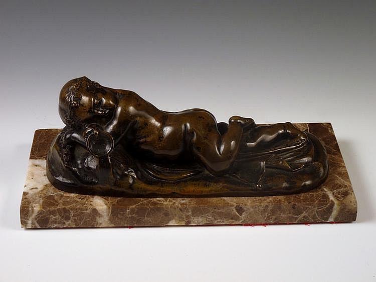 Jan Joseph Jaquet (Belgian, 1822-1898), a sleeping