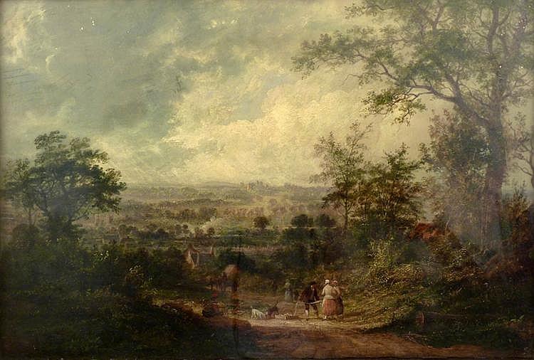 Benjamin Shipham (1806-1872) WOLLATON PARK an
