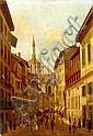 Follower of Angelo Inganni (Italian, 1807-1880) IL, Angelo Inganni, Click for value