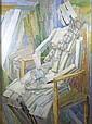 Rachel Reckitt (1908-1995) STUDY OF A SEATED WOMAN, Rachel Reckitt, Click for value
