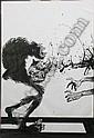 Ralph Steadman (b. 1933) A cartoon of a monkey, Ralph Steadman, Click for value