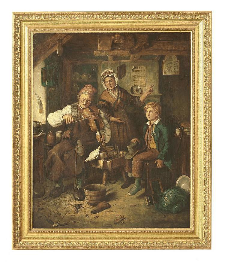 William Weir (fl.1855-65), THE FIDDLING COBBLER