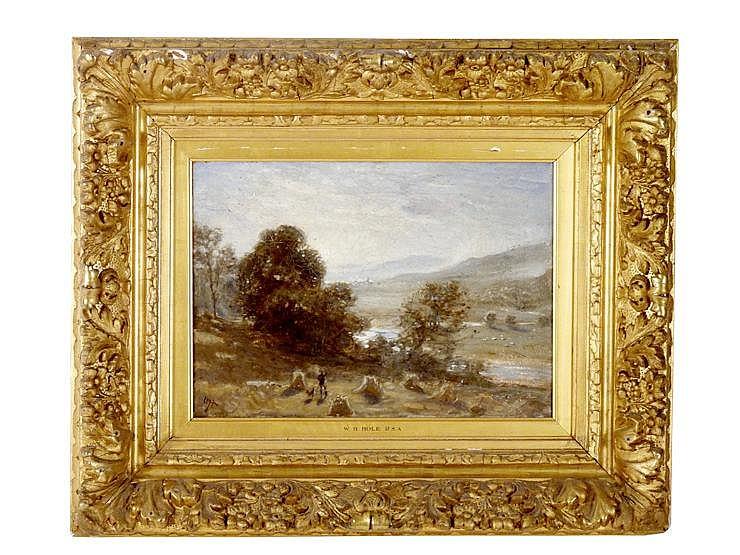 William Brassey Hole RSA (1846-1917) 'A SILVERY