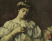 Christina Paterson Ross RSW (Scottish 1843-1906),