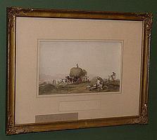 Samuel Austin (1799-1834), 'Harvesting',