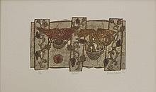 *Valerie Thornton (1931-1991)  'MONASTERIO DE LEYRE';  'CARTMEL'  Two, etchings with aqu