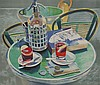 *Glynn Boyd Harte (1948-2003)  STILL LIFE OF A SODA SIPHON AND GLASS  Lithograph printed in, Glynn Boyd Harte, Click for value