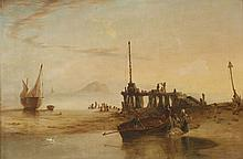 Charles Henry Seaforth (1801-1872)'VIEW OF BASS ROCK NEAR EDINBURGH'Signed and dated 1835, inscrib