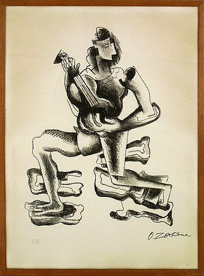*Ossip Zadkine (French/Russian 1890-1967),