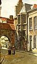 Frank Bramley RA (1857-1915), 'BUTCHER'S ROW, EAST